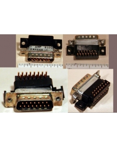 AMP INC - 207294-2 - Connector, D-Sub. Male 15 Pin.