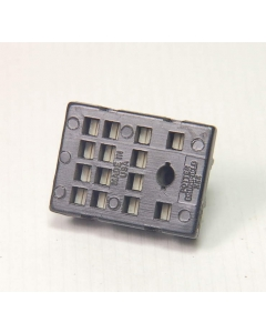 MIXED MFG - 27E023 or equivalent - Relay, socket. For 4PDT relays.
