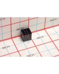 "Unidentified MFG - 8-431 - Hardware, knob. For shaft 0.131"" square. Black."