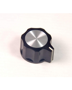 "Unidentified MFG - 345-0500 - Hardware, knobs. 1/4"" flat shaft."