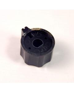 "Unidentified MFG - 345-0500 - Hardware, Equipment Knobs. 1/4"" Flat Shaft. Scalloped Edges"