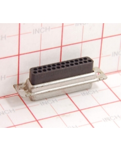 TE Connectivity - AMP - 205207-1 - Connector. D-Sub, 25 Position,  DB25S no pins.