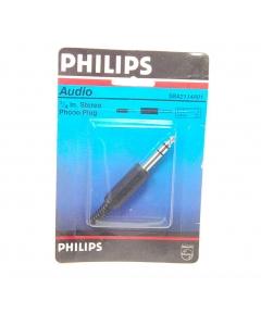 "Philips - SBA2114A01 - 1/4"" AUDIO PLUG PLASTIC STEREO"