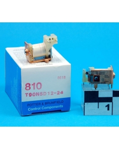 Potter & Brumfield - T90N5D12-24 - Relay, DC. Contacts: SPDT-BM.
