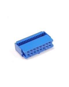 CW INDUSTRIES - CWR-227-16-0000 BLUE - Connector, IDC. 16 Position / 16 Pin.