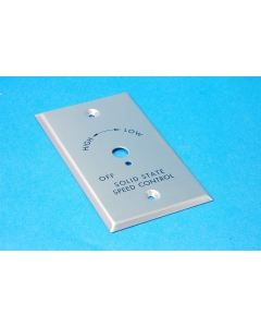 Unidentified MFG - 8-579 - Wall plate. For dimmer switches.