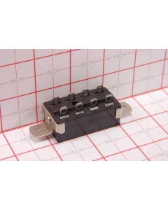 CINCH JONES BEAU MOLEX - S-2408H-AB Connector with Screw Down Strain Relief and Ground Pin Lug