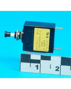 AIRPAX - PP11-62F-2.00A-24458-2-V - 2Amp Push-Pull circuit breakers