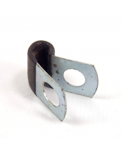 "Unidentified MFG - 8-864 - Hardware, cable clamp. 1/4"". Package of 25."