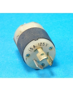 HUBBLE - HBL4720C - Connector. 125 VAC 15Am Twist Lock Male connector