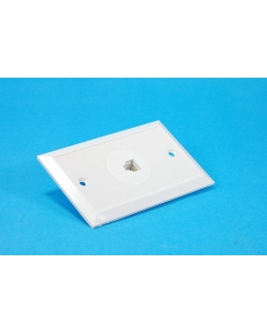 WOODS - 8-986 - Cover plate. RJ14C, 4 position.
