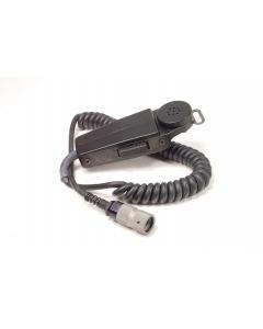 SONETRONICS - M80C/U - Microphone, dynamic. 24VDC 150 Ohm. Used.