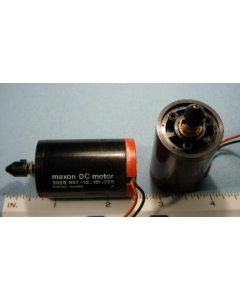 Maxon - 2028.937-12 - ESCAP - PL-11-219-119 Series 28 - Motor, DC. Supply: 3VDC 50mA.