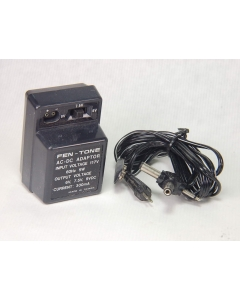 FEN-TONE - 9-096 - POWER SUPPLY, 6V/7.5V/9V VDC Adapter 300MA