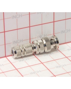 Unidentified MFG - 9-131 - Connector, BNC. Male for coax cable RG-59 + RG-62.