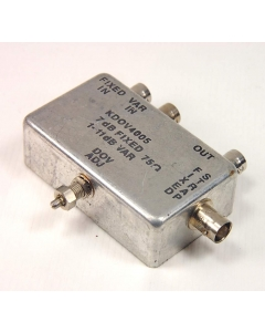 KARKAR ELECTRONICS - KDOV4005 - FILTER 75-OHM 7DB FIXED, 1-11DB VAR