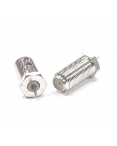 """Unidentified MFG - 9-161 - Connector. F-61 """"F"""" connector. Package of 2"""