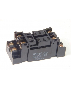 MATSUSHITA - HG2-SF - HG relay socket 20Amp 250V