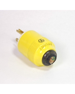 Hubbell Bryant - 9-225 - Connector, power. NEMA 5-20Amp 125V M.