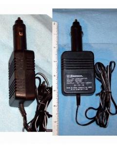 EMERSON - HD6976BP - DC Car Adapter. 12VDC to 3.6VDC 500mA.