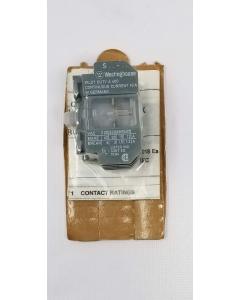 Westinghouse FANAL - SF1 SV1 - 6711C92G06 - Aux, Contact Block. 4P 10Amp 600VAC.