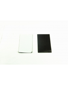 Unidentified MFG - MS-131 - Magnets, business card size. Self-adhesive. Package of 25.