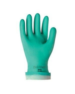 SOL-VEX - 37-175-11 - Gloves, green Nitrile. Size11. Package of 12 Pr.