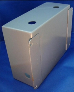 "HOFFMAN - 6960B - Enclosure. Steel, 10 x 8 x 4"". No front panel."