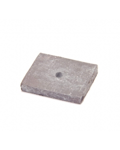 "Unidentified MFG - MS-046 - Slightly flexible Magnets 1.25"" x 1"" x 3/16"""