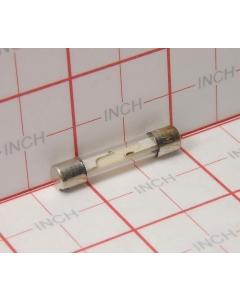 BUSSMANN - MGB1/8 - FUSES, 1/8 AMP , approx 31 mm x 6 mm Dia. (100/man