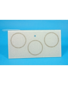 SIERRACIN/THERMAL SYSTEMS - 976-4935-3 - Heating plate, 3 coffee cup size. 120V 120W