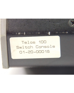 TELOS SYSTEMS - TELOS 100 - Telephone switchbox assembly