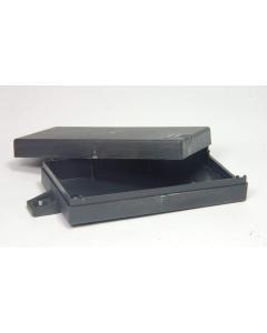 "CUSTOM PLASTIC INJECTION - MS-231 - Enclosure. 4.6 x 2.4 x 1"". Package of 2."