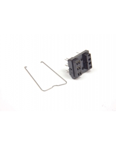 Unidentified MFG - R1027E - Relay socket. For 2PDT. Package of 5.