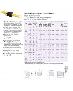 HEYCO - 7W-2 - 1248 - Hardware, Strain Relief.