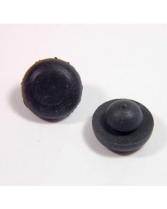 Unidentified MFG - PT-417 - Hardware, feet. Rubber idiot plug. Package of 100.