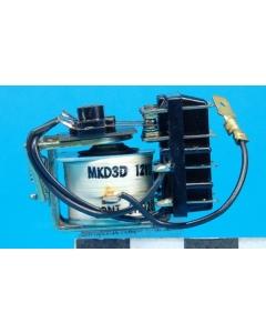 Line Electric - MKD3D-12 - Relay, power. 3PDT 5Amp 12VDC.