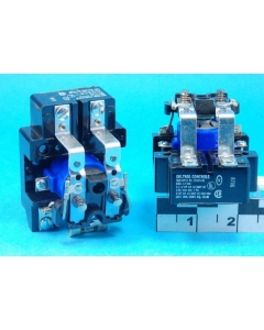 Deltrol Controls  - 900 DPST-NC  - Long Base - 20335-81 - Electromechanical Relay, 12VDC, 30 Amps.