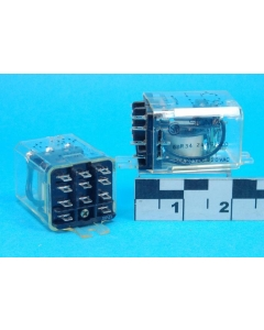 SIGMA - 68R34-24VDC-SCO - Electromechanical Relay - 24VDC 3PDT-10Amp Flange-Mount