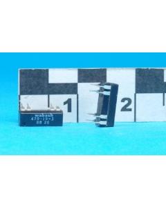 WABASH - 470-19-3 - Relay, dip. DPST NO 12VDC 250mA.
