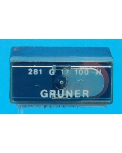 GRUNER - 281G17-100N - Relay, power. Input: DC. Contacts: SPST NO. Used.