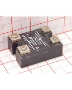 Gordos/Crouzet - G120A25 - 10mA 280 VAC-in 25A 140V AC-out, 4-pin G Series Power Relay, Solid State.