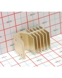 Thermalloy/Aavid - 2049469-05F - Hardware, heatsink. 11 Fin.