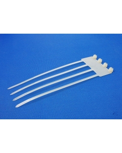 """TYCO/T&B - PT-578 - Hardware, cable ties. 7"""", 4 gang."""