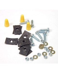 Unidentified MFG - PT-590 - Wire Nuts and Fastener Mounting Kit.