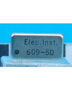 ELEC INST - 609-5D - 5VDC DPST Reed Relay Hi Volt Dip