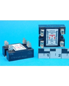 GORDOS/CROUZET - GB15000-120 - 5VDC switches 240VAC 10A SSR