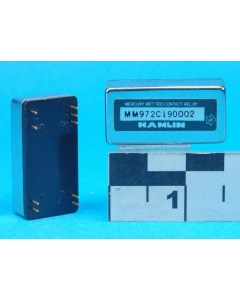 HAMLIN - MM972C190002 - Relay, mercury wetted. DPDT.