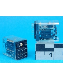 "ITT - 4B-EH100DC - Coil 100VDC 4PDT-5A, PCB  General Purpose ""Ice Cube"" Relay,"