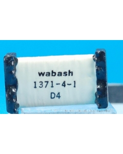 WABASH - 1371-4-1 - Relay, reed. DC 4PST NO.